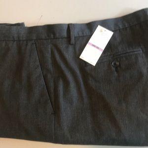 Calvin Klein flat front dress pants 38x30